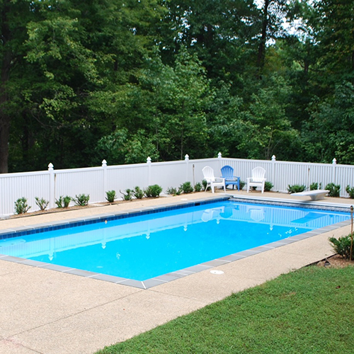 Reading Durables Vinyl Pool Fence