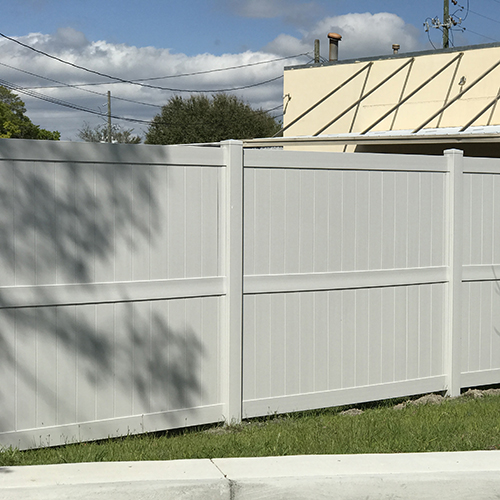 Newport Durables Vinyl Fence