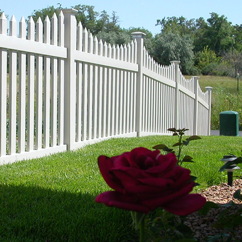 Darlington Picket Fence