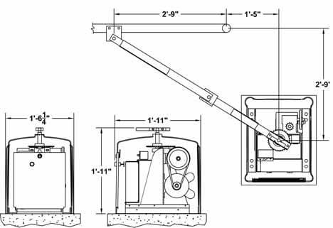 [SCHEMATICS_49CH]  SWR OSCO Residential Automatic Gate Operator from Operators specialities | Osco Door Opener Wiring Diagram |  | Discount Fence Supply, Inc.