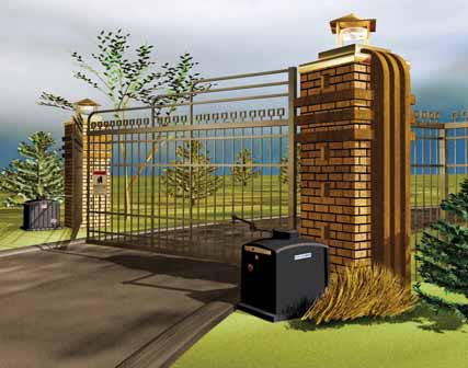 COLORBOND® Steel & Aluminium Fencing & Electric Gates
