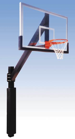 The Legend Fixed Basketball System: Basketball Backboards