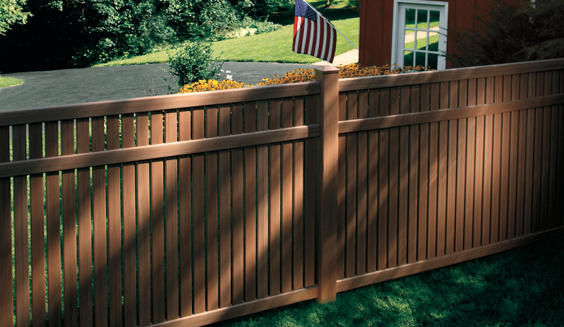 Vinyl Fence Imperial Select Cedar Vinyl Fence Lowest