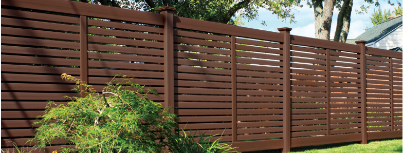 Bufftech Breezewood Select Cedar Vinyl Fence