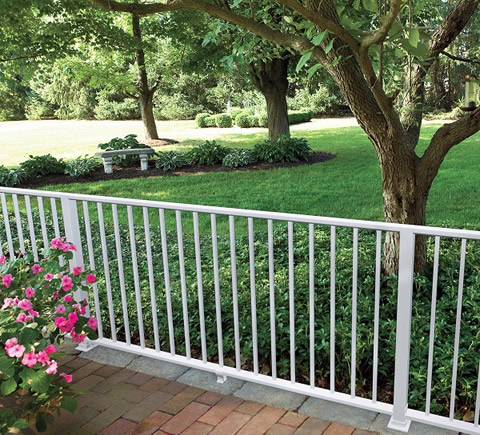 Vinyl Fence by Bufftech - The Largest Supplier of Vinyl Fencing