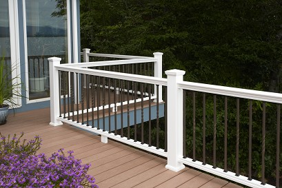 Panorama Composite Railing By Bufftech