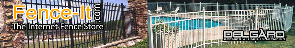 Delgard aluminum fence by discount supply inc