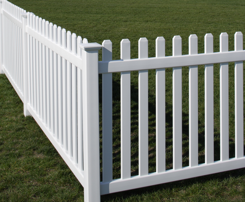 Bufftech rothbury vinyl fence lowest price available